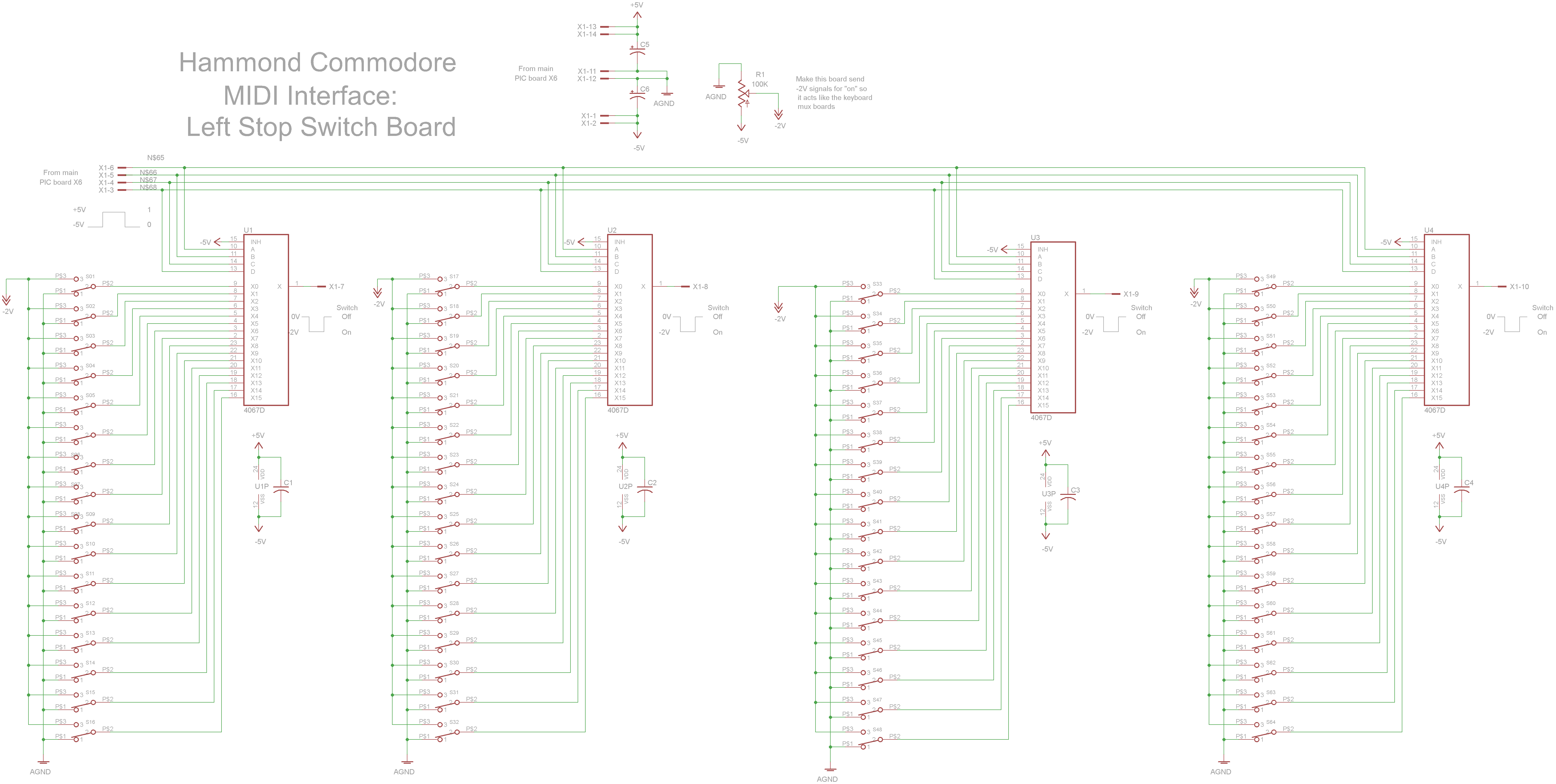 Hammond Commodore MIDI Interface
