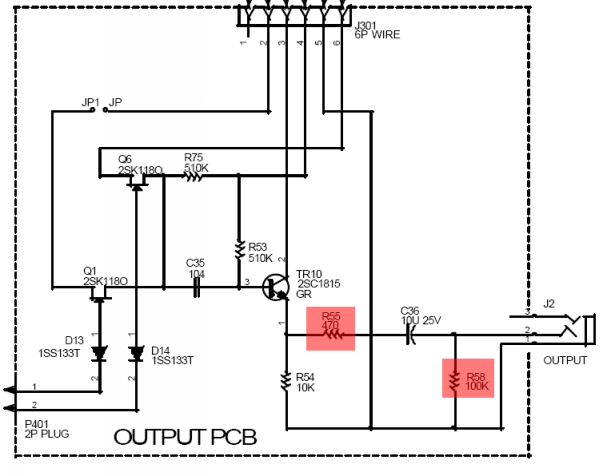 controlling volume with wire wound resistors