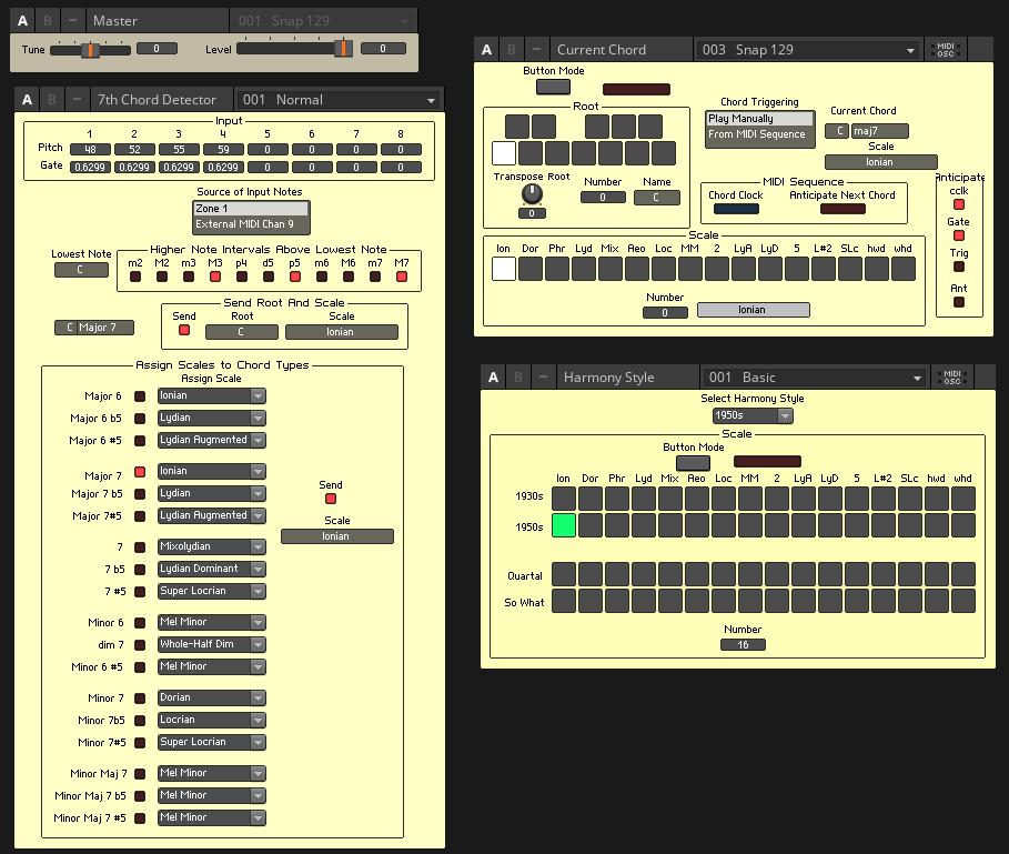 Reaktor Big Band Synthesizer